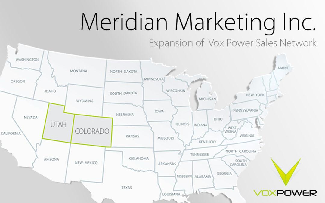 Meridian Marketing joins Vox Power Sales Rep Network