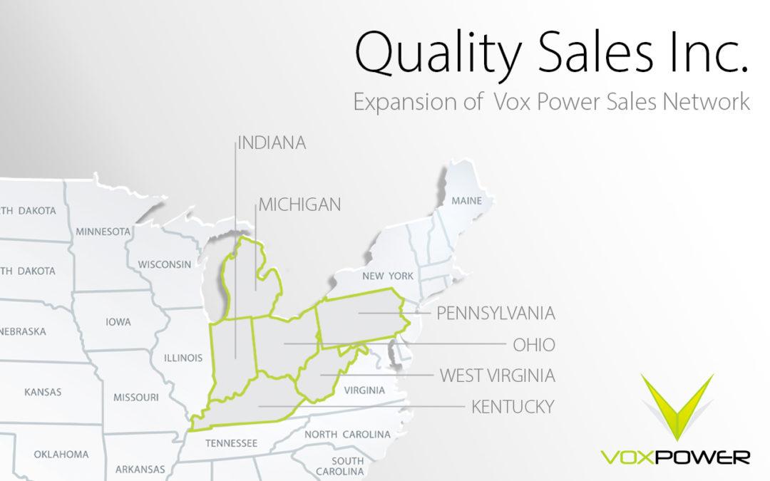 Quality Sales Inc. joins Vox Power Sales Representative Network