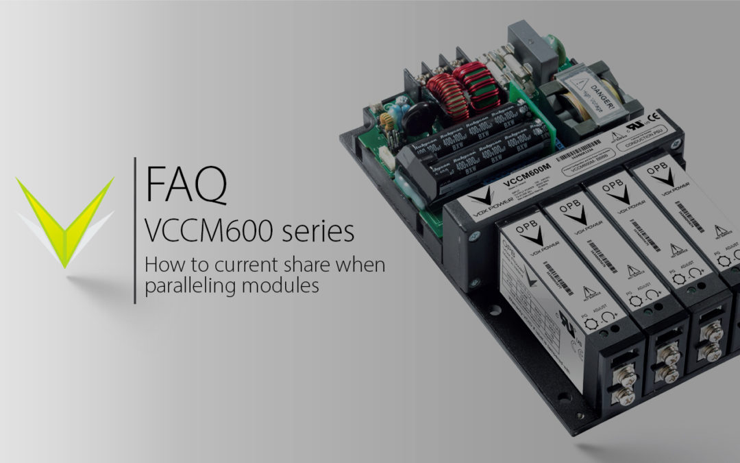 Vox Power | VCCM Series Current Share Demonstration