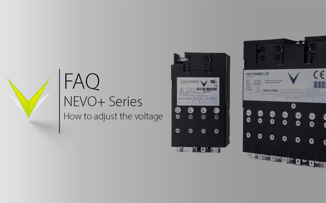 Vox Power | NEVO+ Series Output Voltage Adjust Demonstration