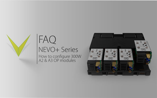 NEVO+ Series 300W Dual Slot Output Module Configuration Demonstration
